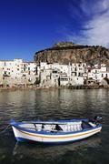 Cefalu, Sicily, Italy. - stock photo