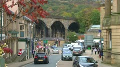 Todmorden Viaduct Stock Footage