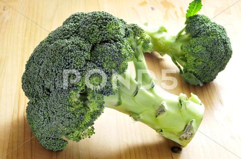 Stock photo of broccoli