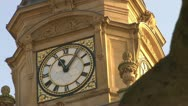 Dewsbury Town Hall and Sculpture Stock Footage