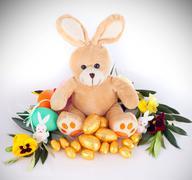 Plush bunny Stock Photos