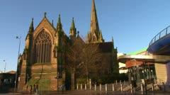 St Martin's Church Stock Footage