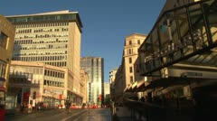 Birmingham City Centre Stock Footage
