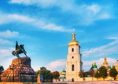 St. sofia monastery in kiev, ukraine Stock Photos