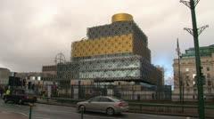 Library of Birmingham Stock Footage