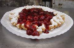 Funnel Cake Stock Photos