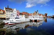 Stock Photo of gdansk harbor, poland