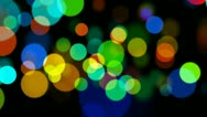Abstract multicolored circles Stock Footage