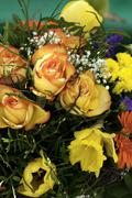 Flower Bouquets - stock photo