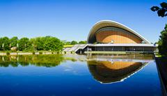 panorama haus der kulturen der welt - stock photo