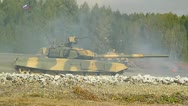 Stock Video Footage of Tank T-90, military exercises-2