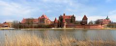 Stock Photo of malbork caste in poland