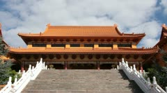 Buddhist Religion Temple Stock Footage