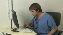 PC Doctor Stock Footage