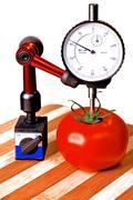 Precision tomato Stock Photos