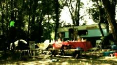 Mustalainen leiri 01 Arkistovideo