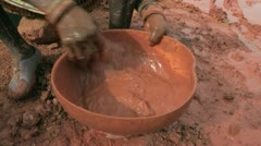 Burkina Faso: Panning for Gold Stock Footage