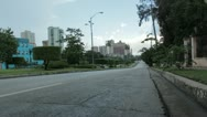 Stock Video Footage of Avenida de los Presidentes