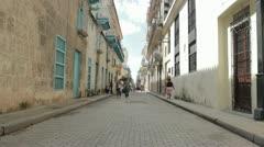Havanna Street Scene Stock Footage