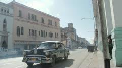 Havana street Stock Footage