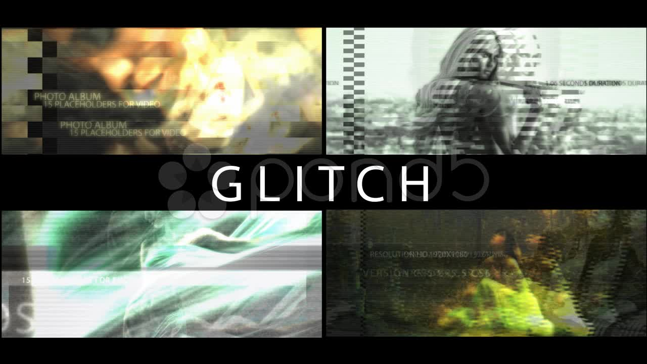 After Effects Project - Pond5 Glitch 21929710