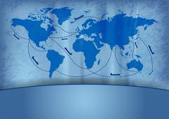 Ship transport Stock Illustration