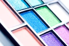 Make up palette Stock Photos