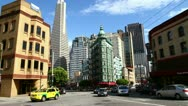 Stock Video Footage of Time lapse of San Francisco downtown at daytime