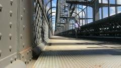 Sydney Harbour bridge glidetrack (10) Stock Footage