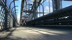 Sydney Harbour bridge glidetrack (15) Stock Footage
