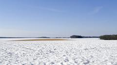 Hohenlohe at winter time Stock Photos