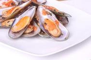 Stock Photo of mussels