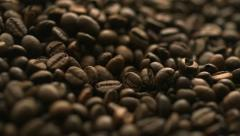 Coffee bean, Slow Motion Stock Footage