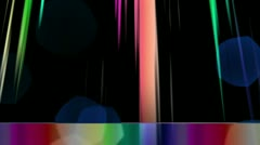 Cinematic animated Background (Bokeh and Lights) Stock Footage