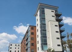 Modern Apartments 2 - stock photo