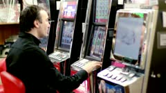 slot machine - stock footage