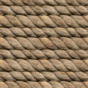 Hemp rope seamless Stock Photos