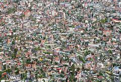 townscape - stock photo