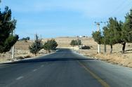 Stock Photo of landscape at  amman,jordan