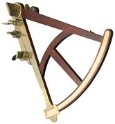 sextant cutout - stock photo