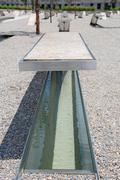 Pentagon memorial in Washington DC Stock Photos