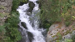 Cascade in the Alps Stock Footage