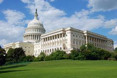Stock Photo of US Capitol in Washington DC