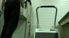 Medical Treadmill Stock Footage