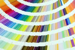 Pantone colors Stock Photos
