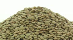 Lentils zoom in Stock Footage