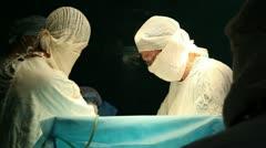 Abdominal surgery 8 Stock Footage