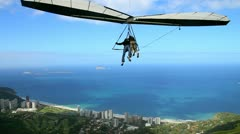 hang Gliding - stock footage