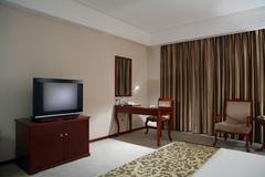 hotel rooms - stock illustration