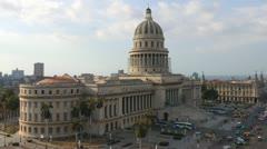 Capitolio Building Havana Stock Footage